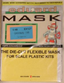 EDEX127 1/48 Mitsubishi G4M Betty Mask(Tamiya)